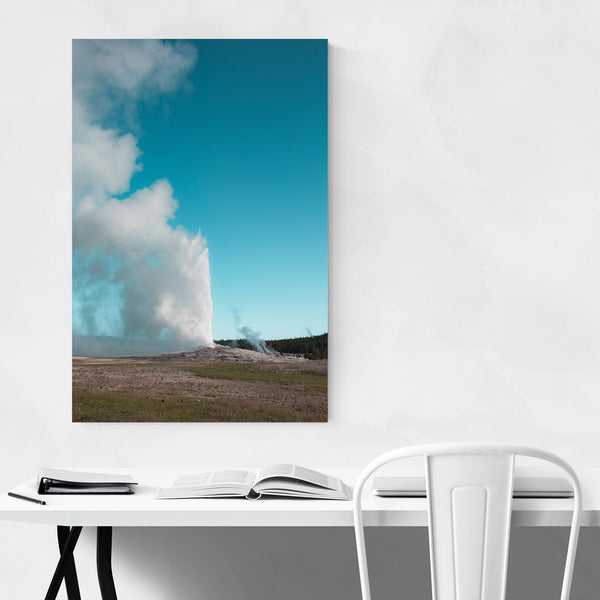 Yellowstone Wyoming Old Faithful Art Print