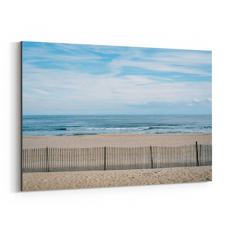 Asbury Park, New Jersey Beach Canvas Art Print