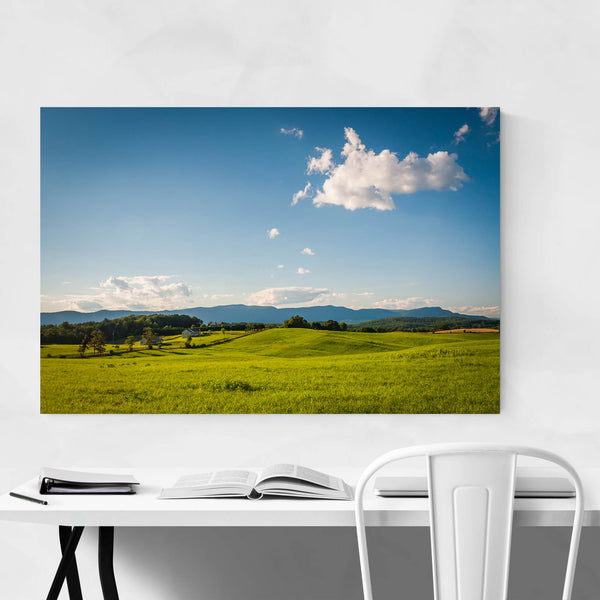 Farms Shenandoah Valley Virginia Art Print