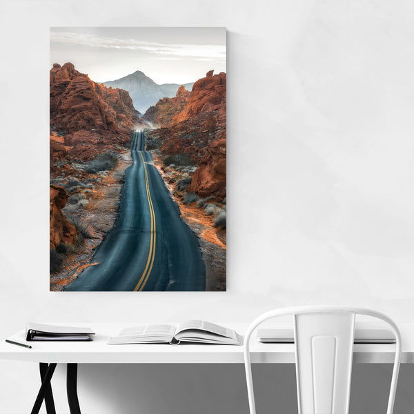 Valley of Fire Nevada Desert Art Print