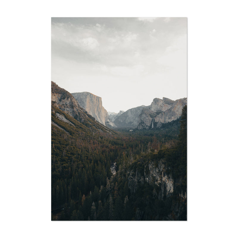 Yosemite National Park California Art Print