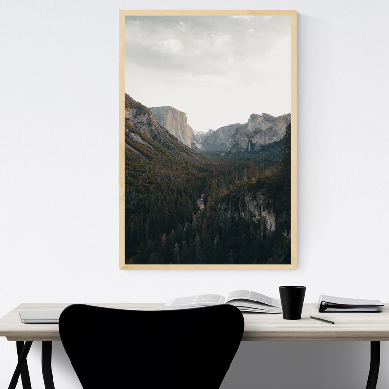 Yosemite National Park California Framed Art Print