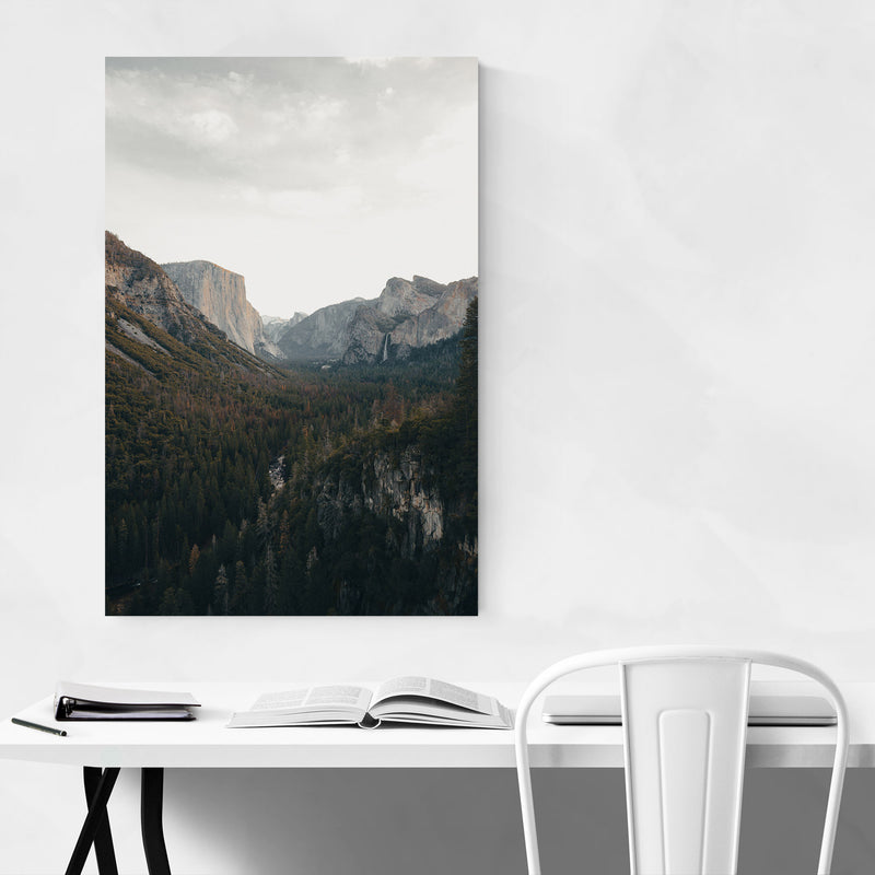 Yosemite National Park California Canvas Art Print