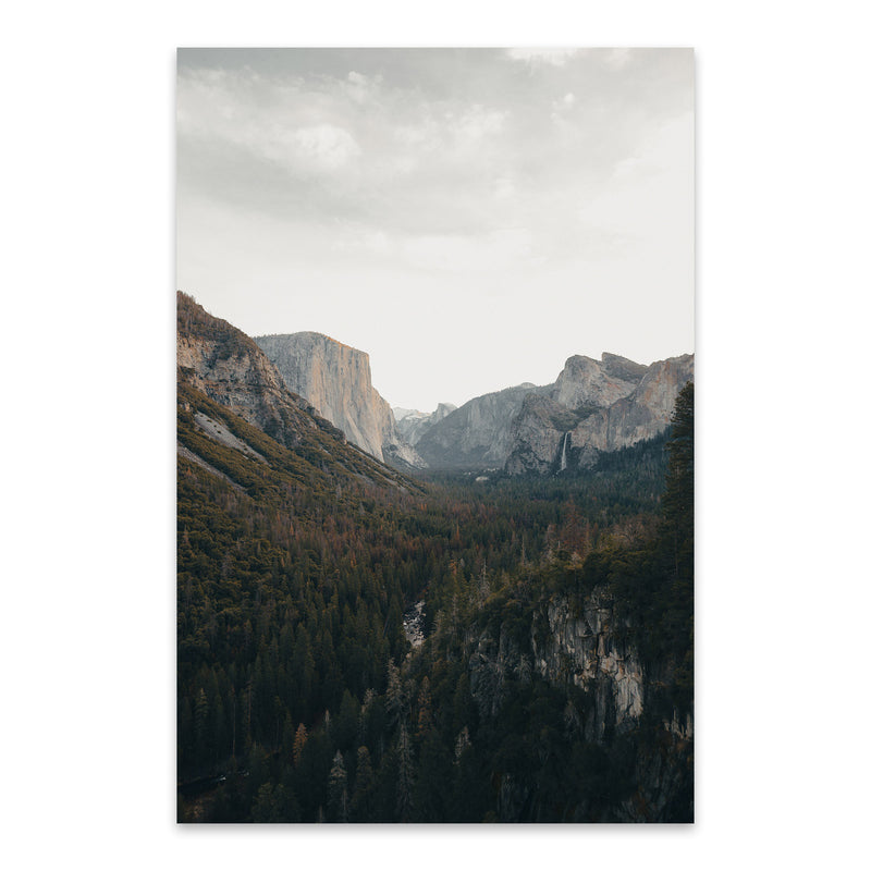 Yosemite National Park California Metal Art Print