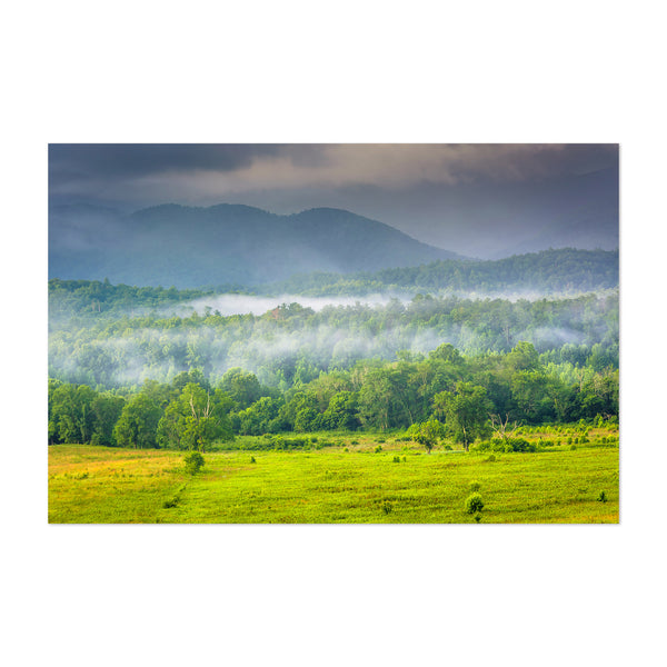 Great Smoky Mountains Cades Cove Art Print