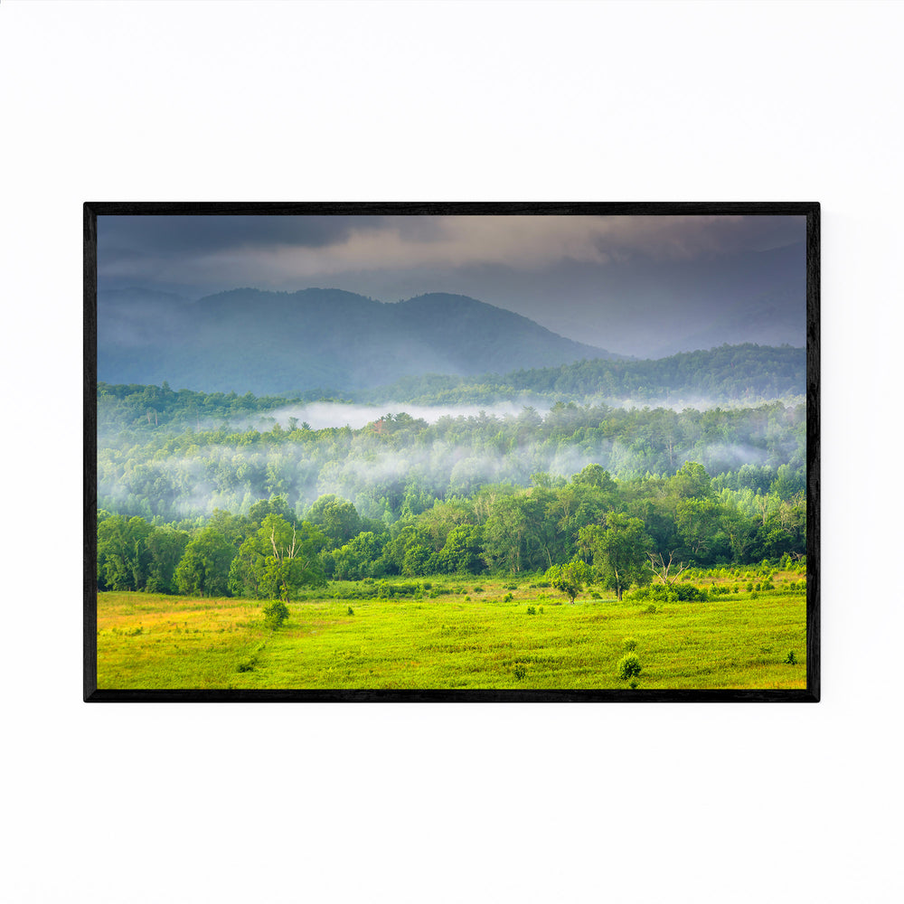 Great Smoky Mountains Cades Cove Framed Art Print