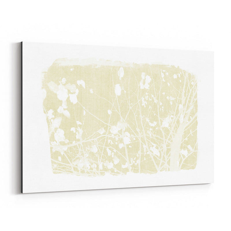 Yellow Nature Botanical Tree  Canvas Art Print