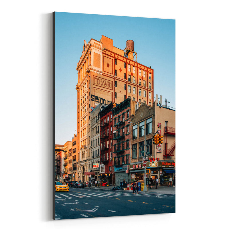 Lower East Side New York City Canvas Art Print