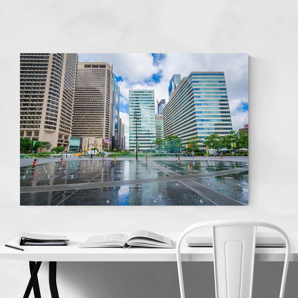 Philadelphia Center City Modern Art Print