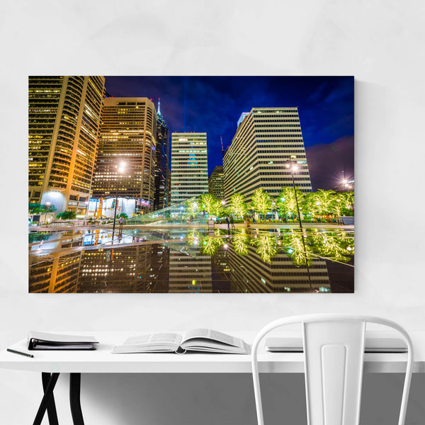 Philadelphia Center City Skyline Art Print