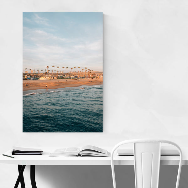 Newport Beach Balboa California Art Print