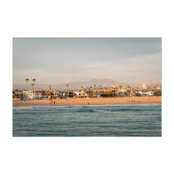 Newport Beach Orange County CA Art Print