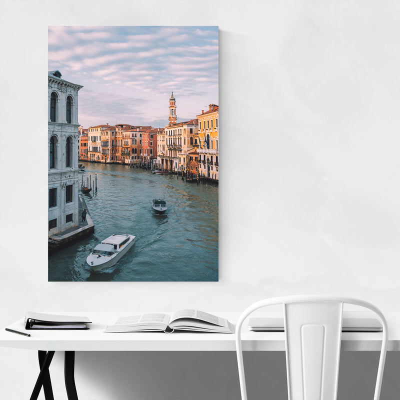 Venice Italy Grand Canal Europe Canvas Art Print