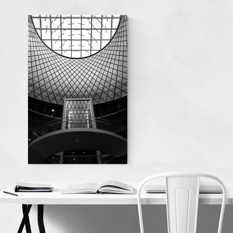 Manhattan New York Architecture Metal Art Print