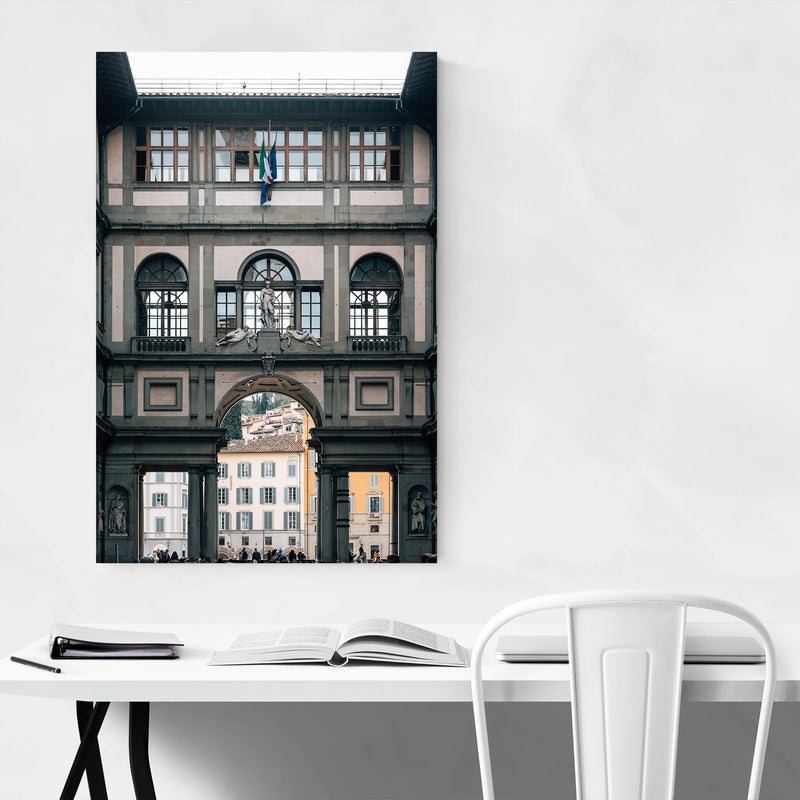 Florence Italy Architecture Metal Art Print