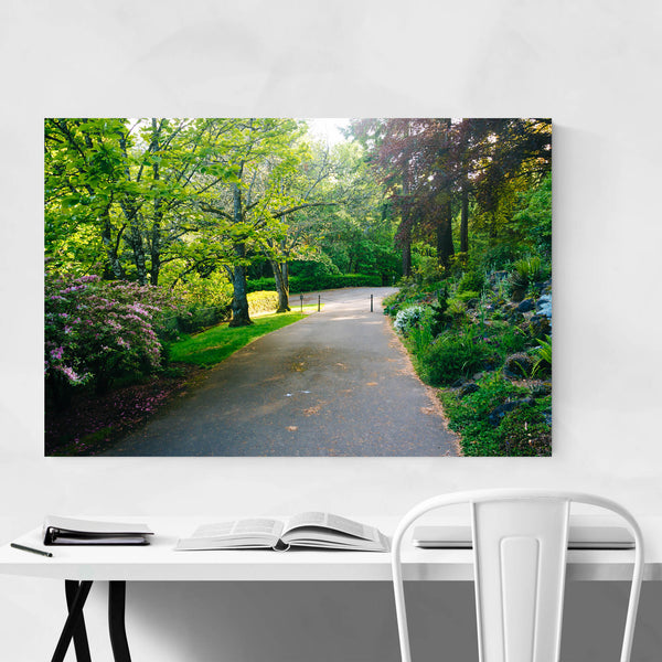 Portland Pittock Mansion Gardens Art Print
