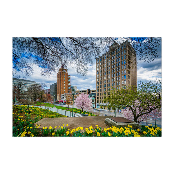 Downtown Harrisburg Pennsylvania Art Print