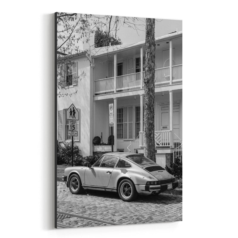 Black & White Georgetown DC Canvas Art Print