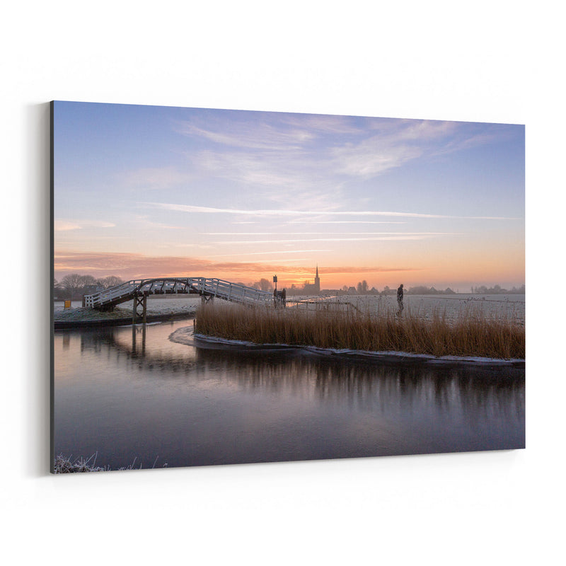 Spanbroek Holland Netherlands Canvas Art Print