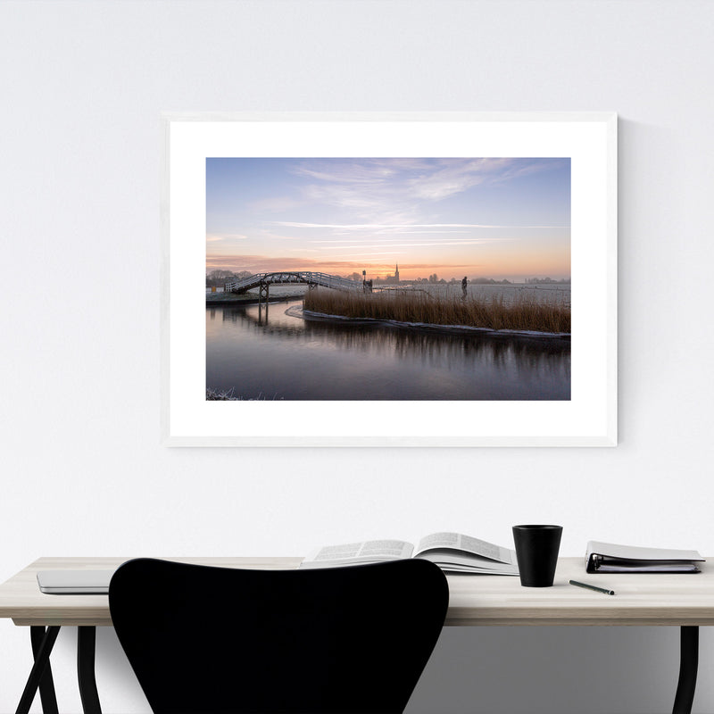 Spanbroek Holland Netherlands Framed Art Print