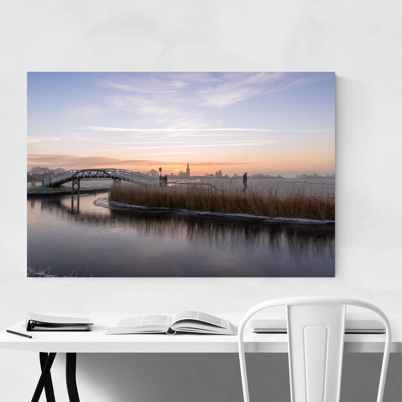 Spanbroek Holland Netherlands Metal Art Print