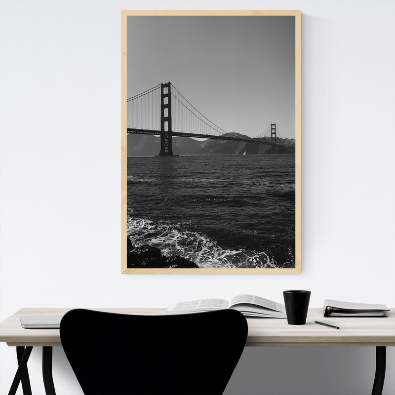 Golden Gate San Francisco Bay Framed Art Print
