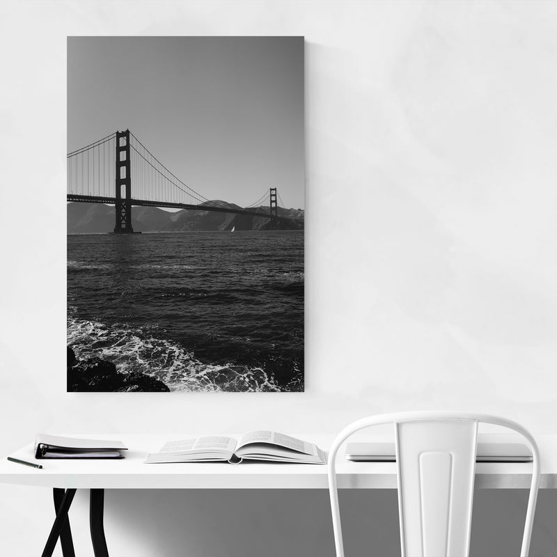 Golden Gate San Francisco Bay Metal Art Print
