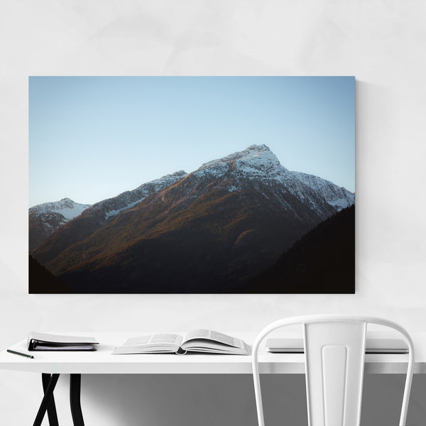North Cascades Mountains Nature Art Print
