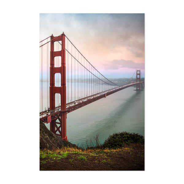 Golden Gate Bridge California Art Print