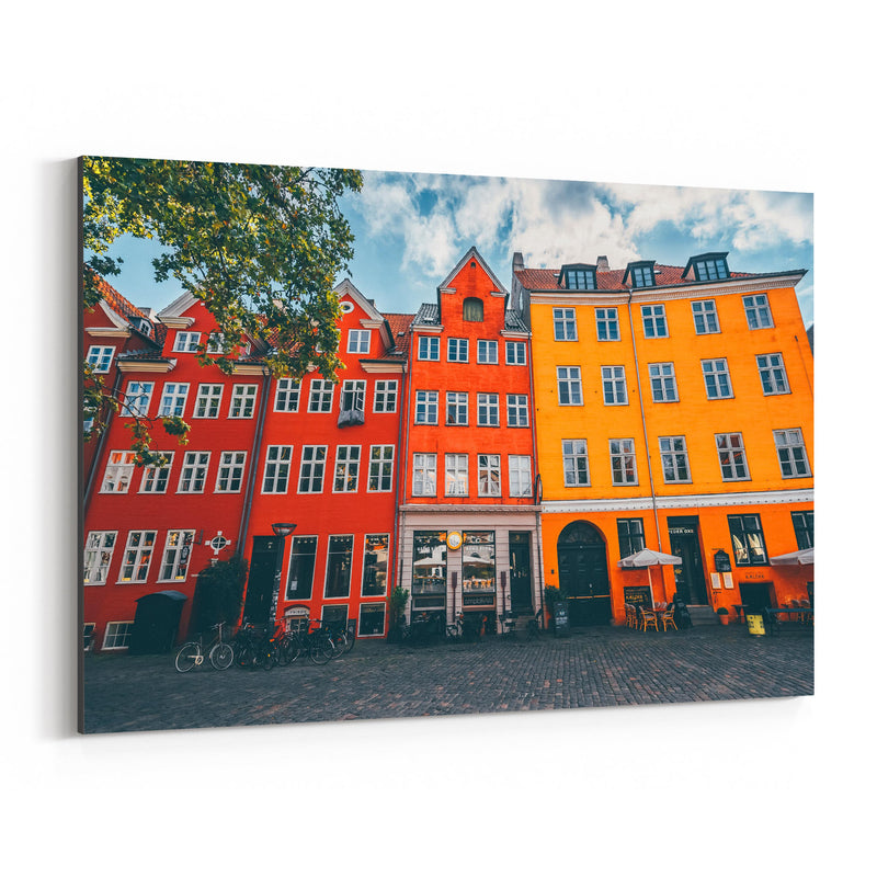 Copenhagen Denmark City Europe Canvas Art Print