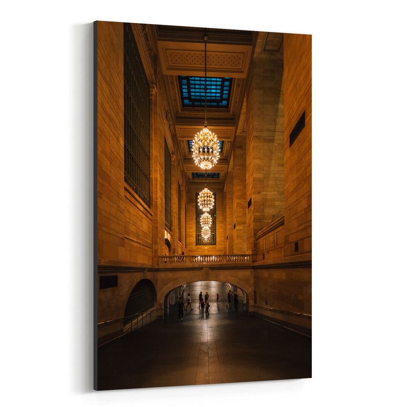 Grand Central Station New York Canvas Art Print