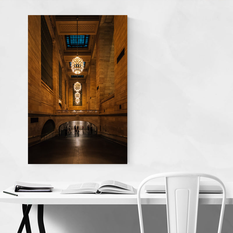 Grand Central Station New York Metal Art Print