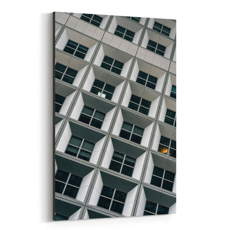 Modern Architecture Paris France Canvas Art Print