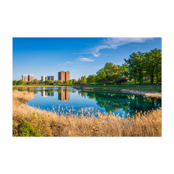 Druid Hill Park Lake Baltimore Art Print