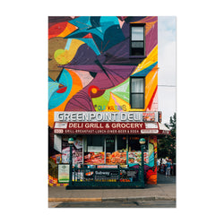 Greenpoint Deli Brooklyn NYC Art Print