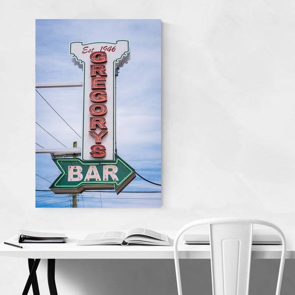 Tavern Bar Pub Sign Photo Art Print