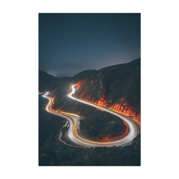 Grimes Canyon California Art Print