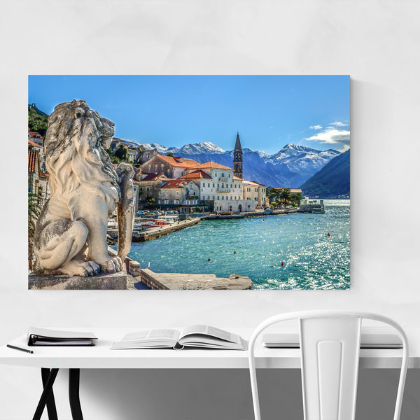 Perast Old Town Montenegro Photo Art Print