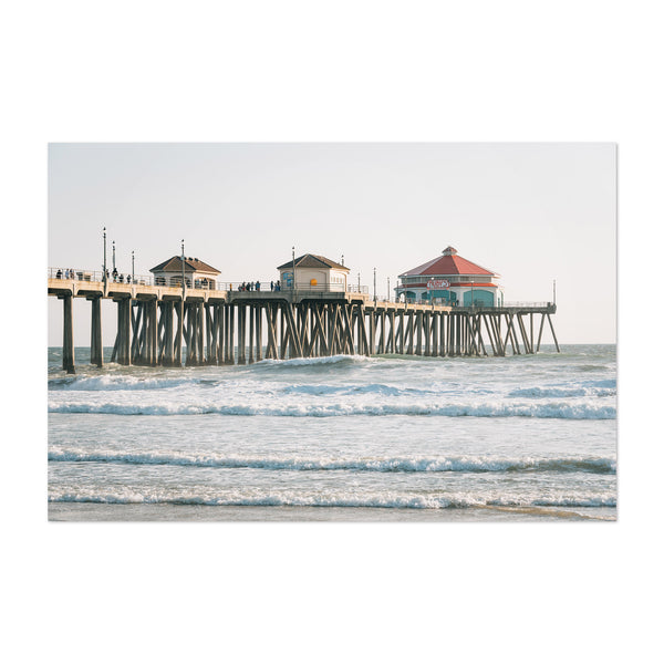 Huntington Beach California Art Print