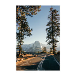 Half Dome Yosemite California  Art Print