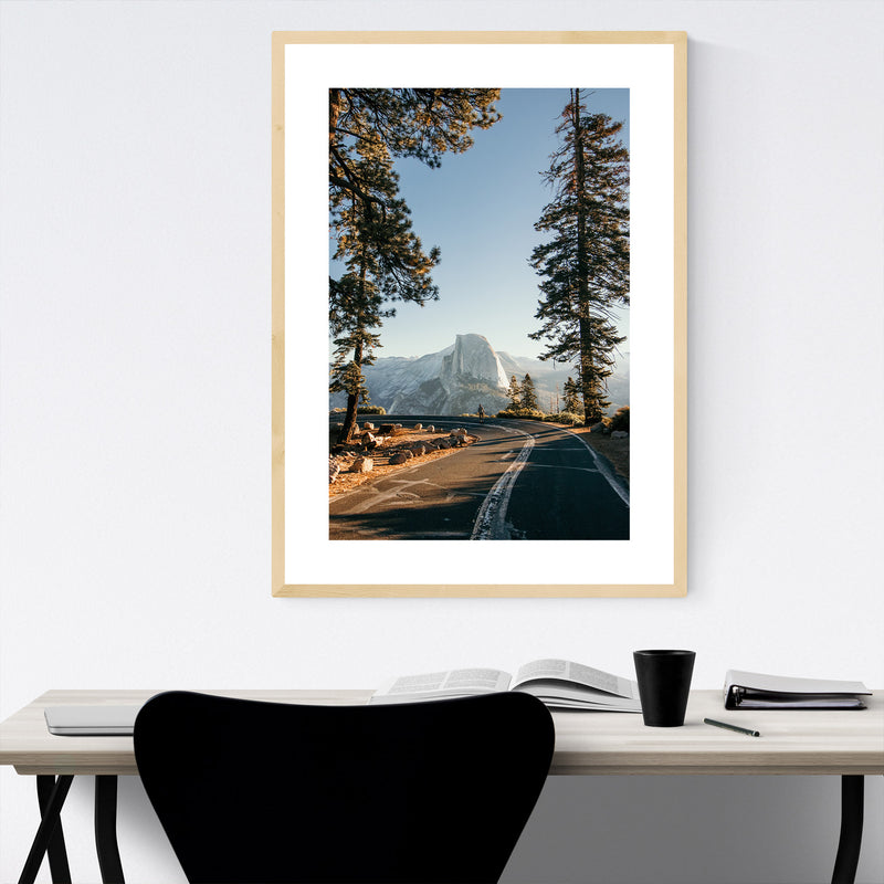 Half Dome Yosemite California  Framed Art Print