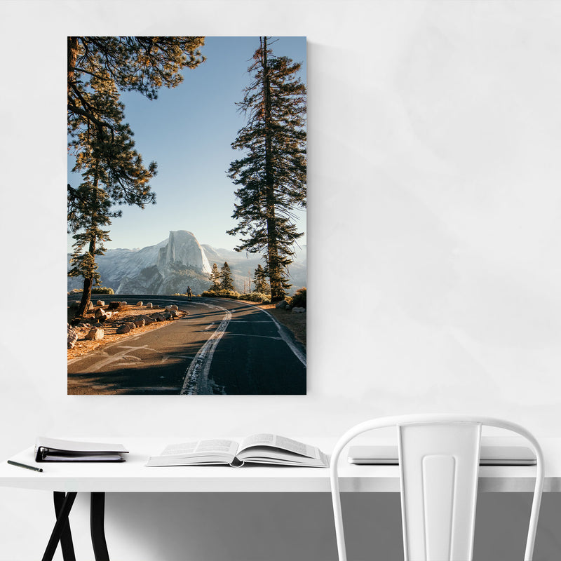 Half Dome Yosemite California  Canvas Art Print