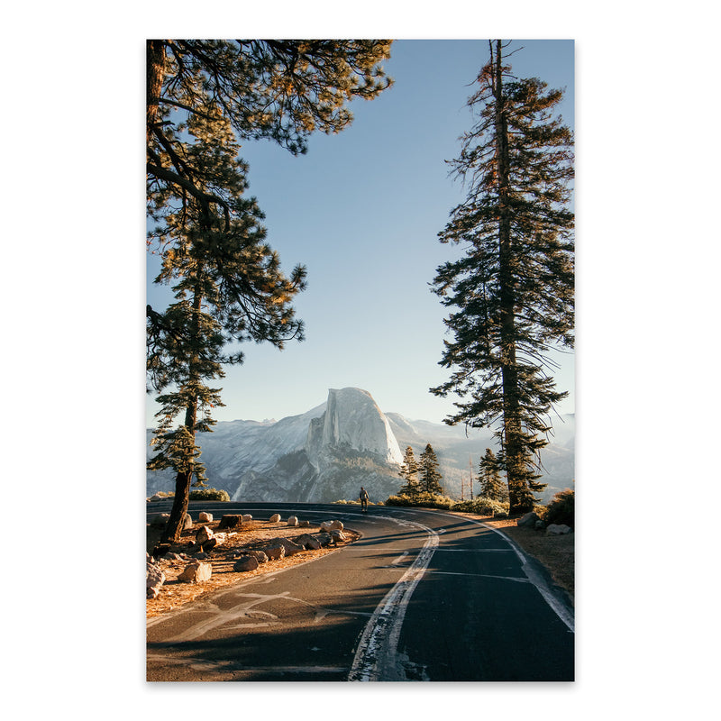 Half Dome Yosemite California  Metal Art Print