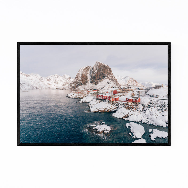 Lofoten Norway Nature Photo Framed Art Print