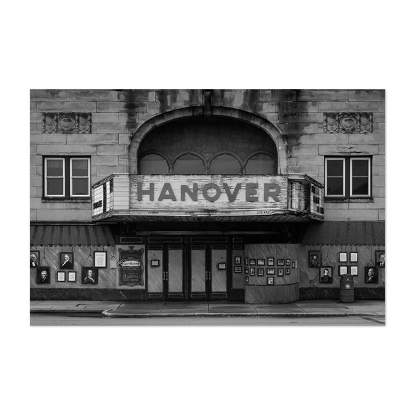 Hanover Pennsylvania Old Theater Art Print