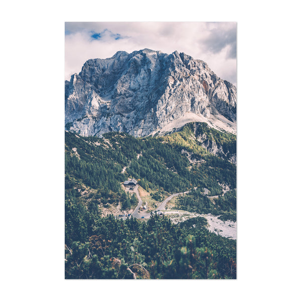 Vrsic Pass Slovenia Mountains Art Print