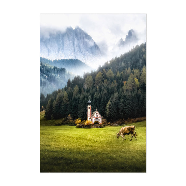 Italy Dolomites Mountains Alps Art Print