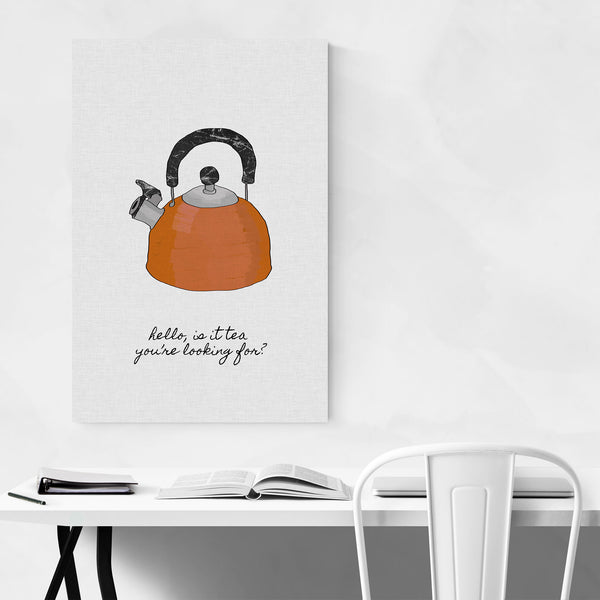 Cute Tea Pot Kitchen Cooking Art Print
