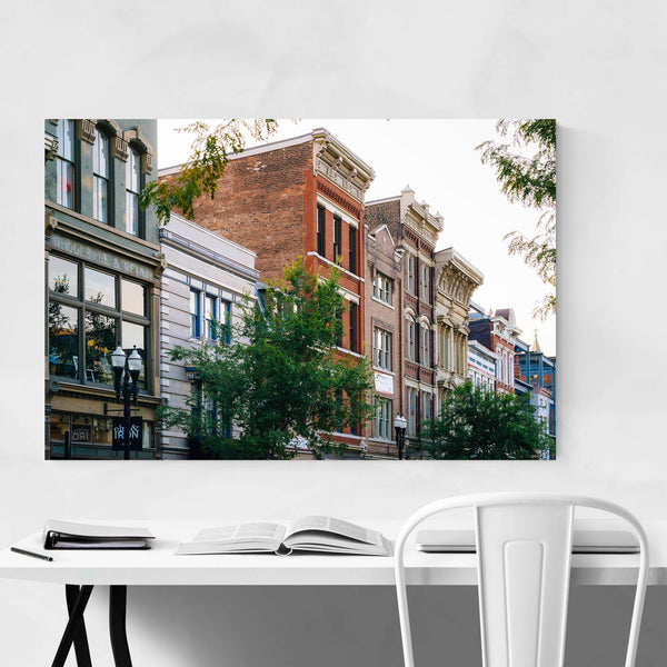 Cincinnati, Ohio Over-The-Rhine Art Print