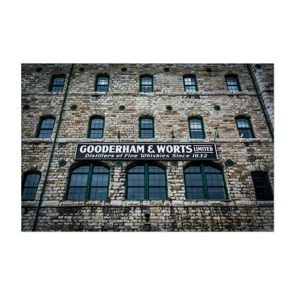 Distillery District Toronto Art Print